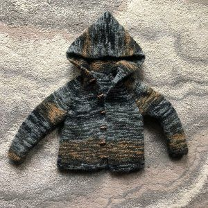 New Etsy handmade handknit gnome 3t earth tones